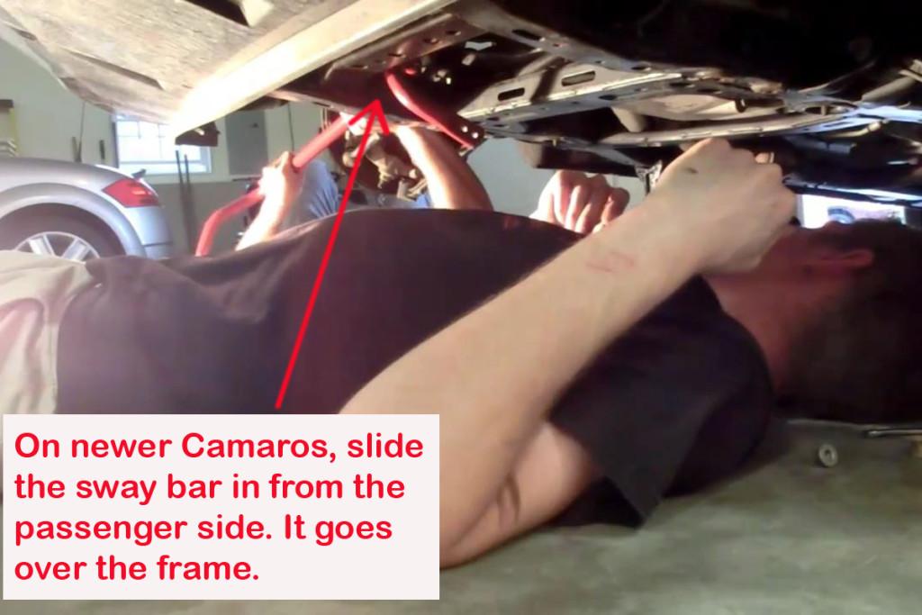 Installing-Newer-Camaro-Sway-Bar