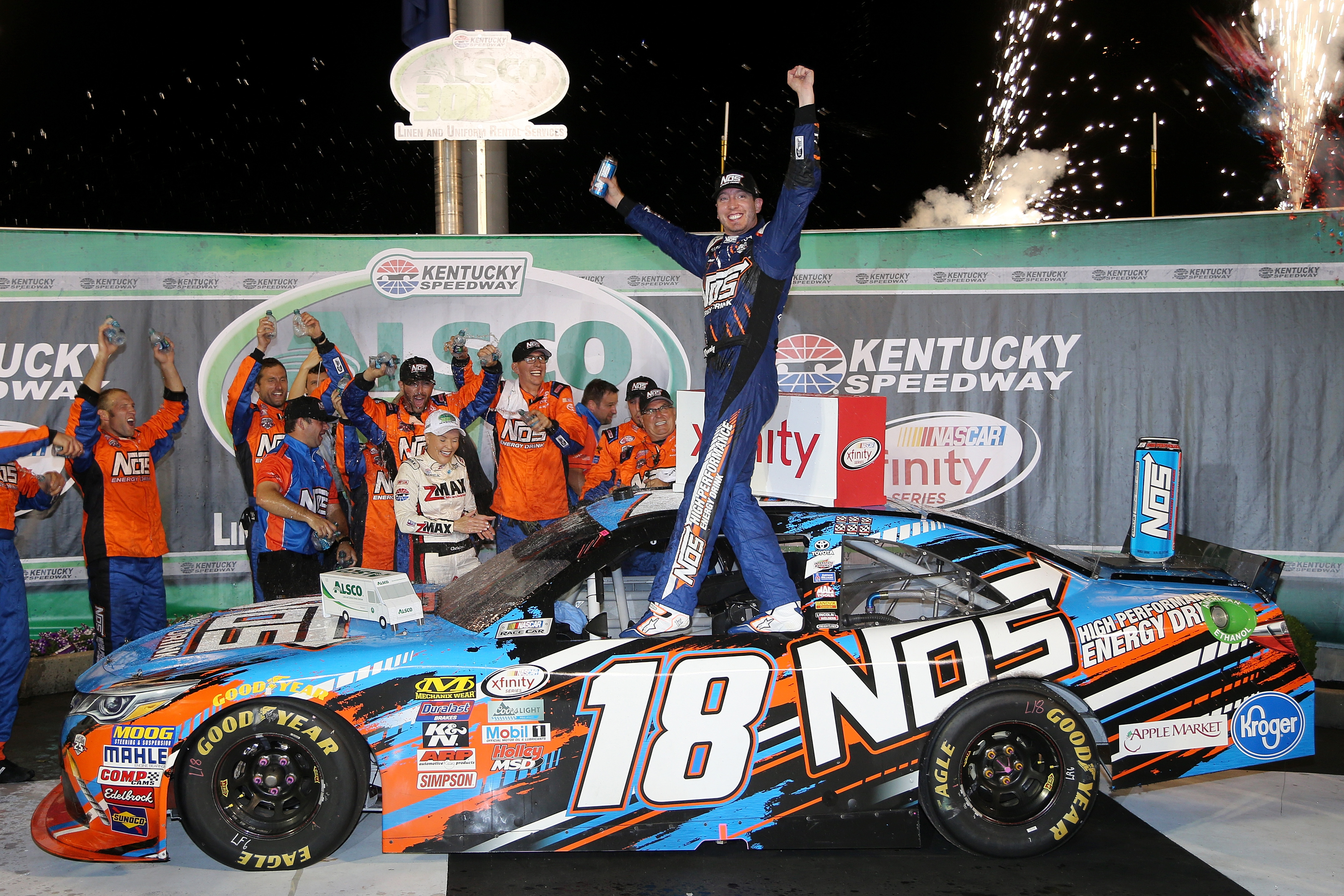 Fate Shows Kyle Busch the Winning Way in Alsco 300 – RacingJunk News