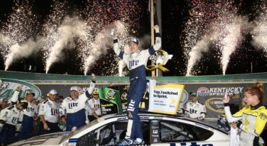 NASCAR Sprint Cup Series Quaker State 400 Presented by Advance Auto Parts