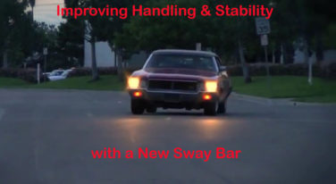 We talk sway bars as a way to improve your car's handling, stability, and safety. Images from screenshots.