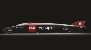 Triumph Prepping for New World Land Speed Record Attempt at Bonneville