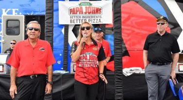 Papa John's Pizza Delivers Sponsorship to Leah Pritchett