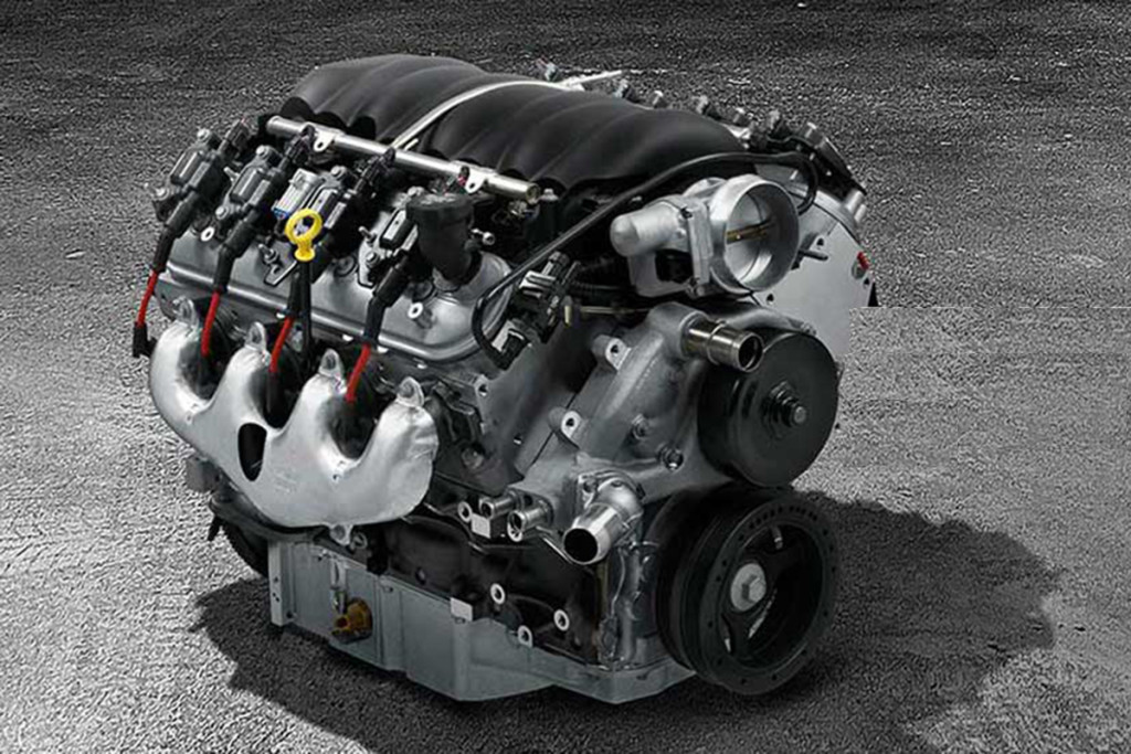 The Chevy Performance LS376/525 found in this ND Miata. Image courtesy Chevy Performance.