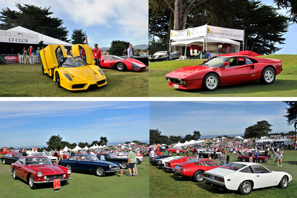 More of the gorgeous cars that are on display at the Concorso Italiano.