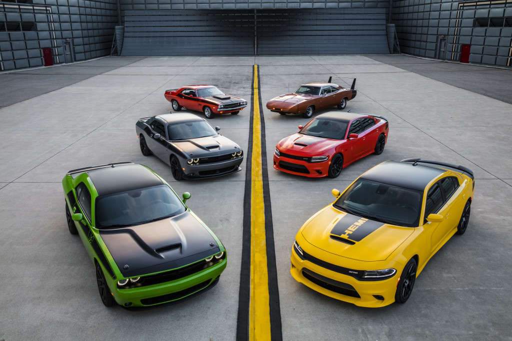 Dodge Debuts New 2017 Charger And Challenger Models At Woodward Dream Cruise