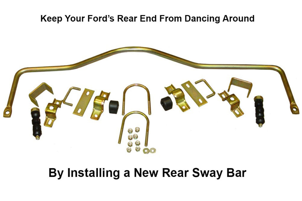 Installing a rear sway bar, ford rear sway bar, tech, suspension, Mike Aguilar