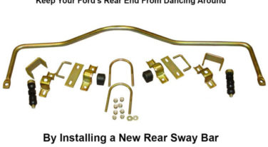 Installing a Rear Sway Bar In Your Ford