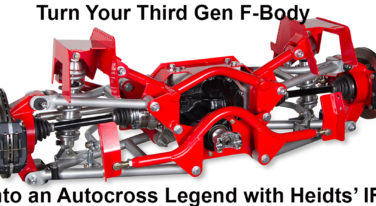 Heidts' IRS Can Make Your Third Gen F-Body Handle Like a 'Vette