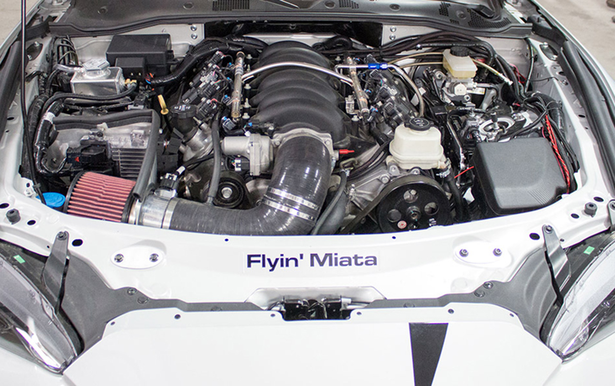 The Flyin' Miata LS Swap is The Best Way to Miata