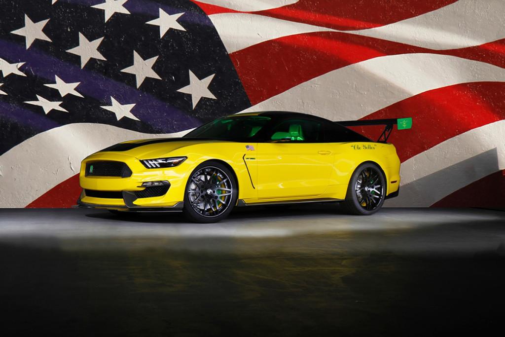 Ole Yeller Mustang