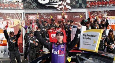 NASCAR Wrap Up: Hamlin Wins Cheez-It 355, Logano Zips up Zippo 200