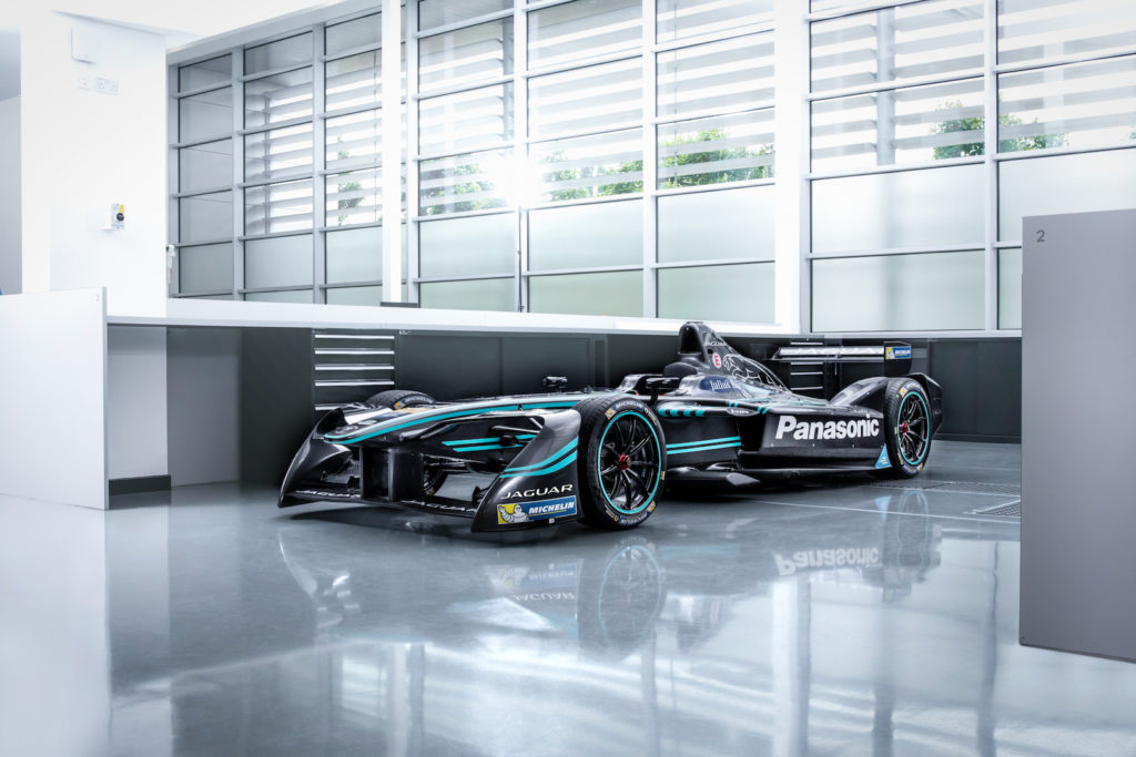 Jaguar Returns to Racing with the I-Type