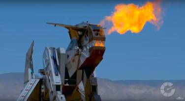 [Video] RUN! The Robosaurus is Coming!