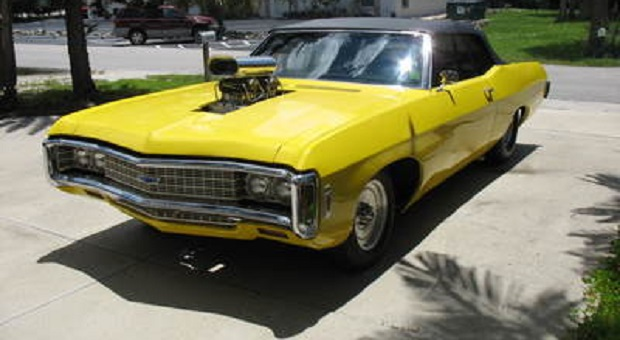Today's Cool Car Find is this '69 Chevy Impala Convertible