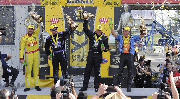 NHRA Countdown Tightens at AAA Insurance Nationals