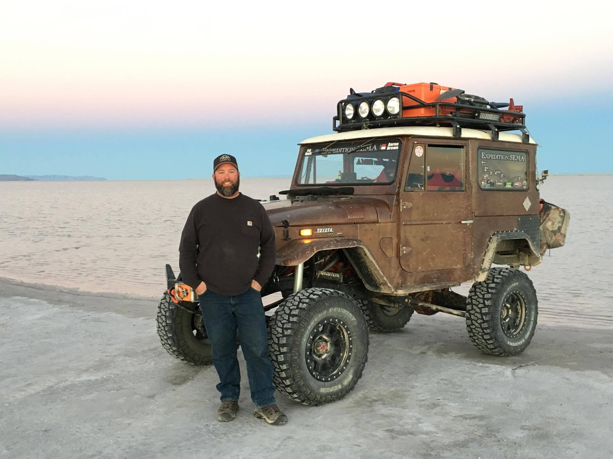 Expedition SEMA Heads Off the Trail