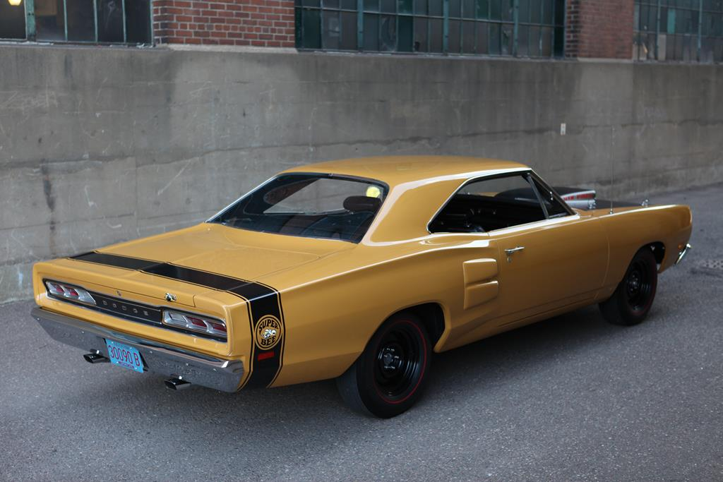 Randy and Monica Bauer's 1969 ½ Super Bee