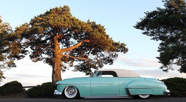 Bruce Vaden's 1950 Olds Custom