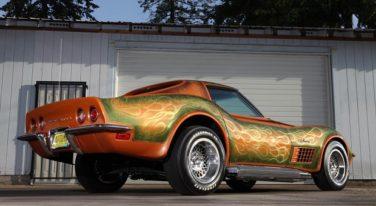 """Mike Itel's """"Autumn Leaves"""" Survivor Show Corvette"""