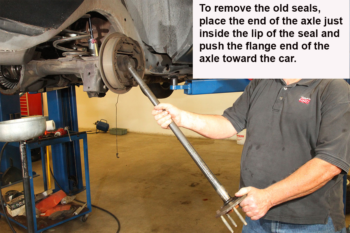 Installing New Axles in Your Chrysler 8 ¼ Inch Rear End