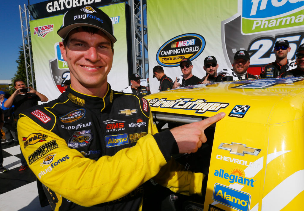 Hometown Hero Grant Enfinger Wins Fred's 250 at Talladega