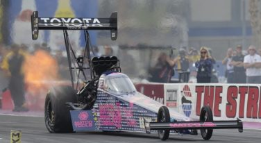 Antron Brown Crowned NHRA Mello Yello Top Fuel Champion