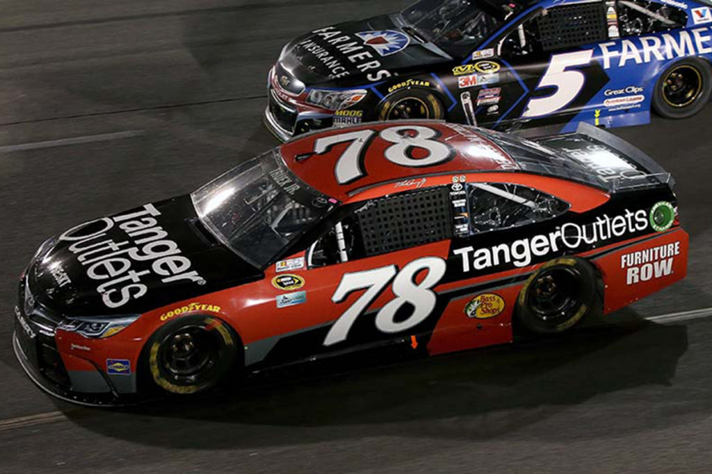 Truex Jr Fails LIS After Chicagoland Chase Win - and Nothing Happens