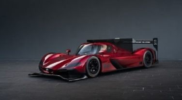 Mazda's New Racecar Prototype Unveiled at LA Auto Show