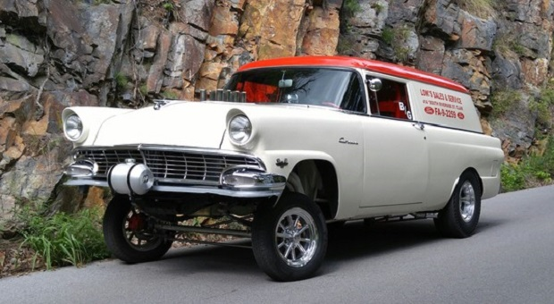 Today's Cool Car Find is this 1956 Ford Gasser