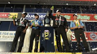 NHRA Season Coming to a Close