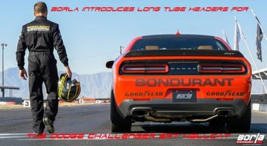 Borla Announces New Powerhouse Exhaust System for Hellcats
