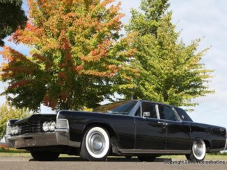 Paul Barnes' MetalWorks built 65 Lincoln Continental