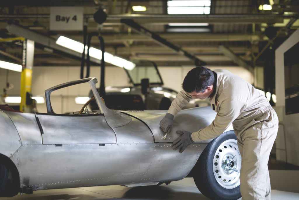 Jaguar Temporarily Resurrects the Iconic XKSS