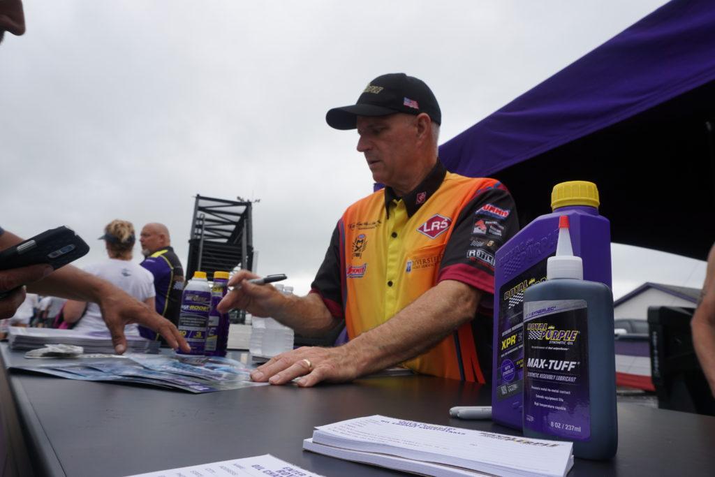 Royal Purple Hosts Drivers at the NHRA World Finals