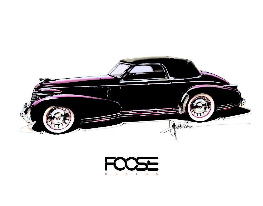 "Chip Foose's Elegant ""Madam X"" Custom Debuts to Acclaim at SEMA Show"