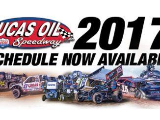 Tentative 2017 Lucas Oil Speedway Schedule Released