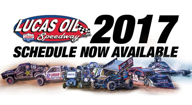 Tentative 2017 Lucas Oil Speedway Schedule Released
