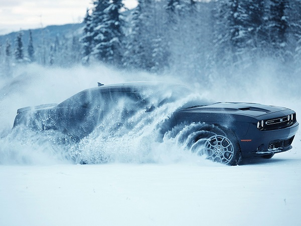 Dodge Challenger is First AWD American Muscle Car Coupe
