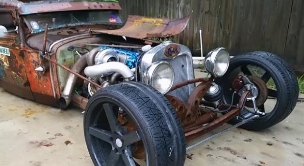 Powering a Rat Rod Model A With a Toyota Turbo