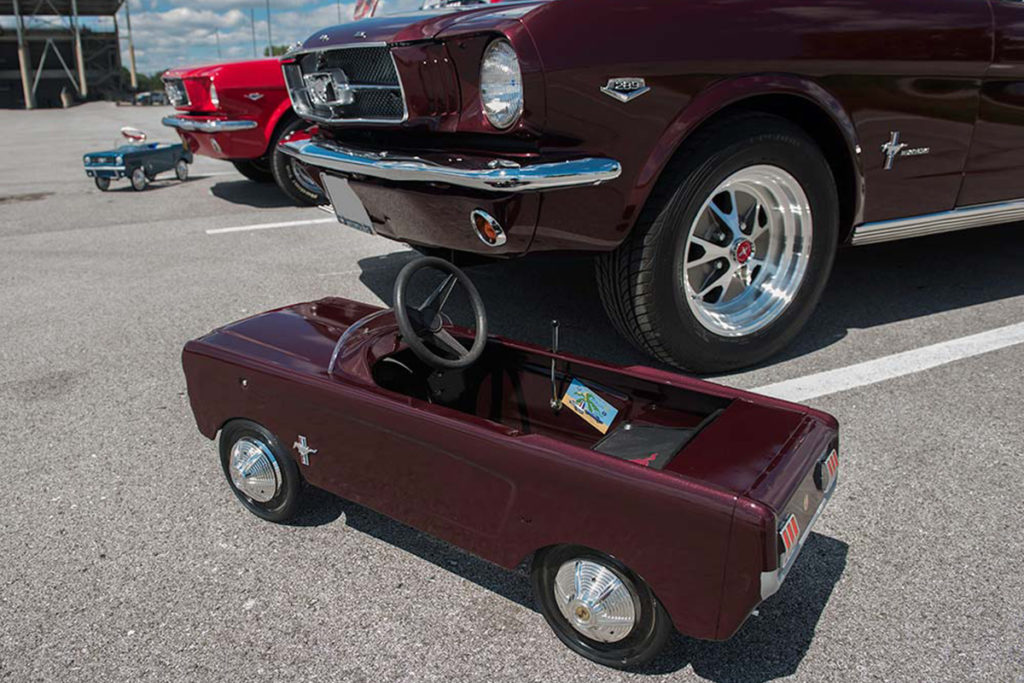 As always, this year's gathering had something for Mustang lovers of all ages.