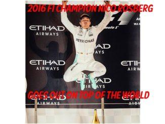 Nico Rosberg Wins F1 Title Then Retires