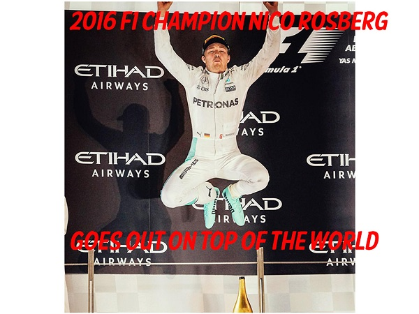 Nico Rosberg Wins F1 Title Then Retires