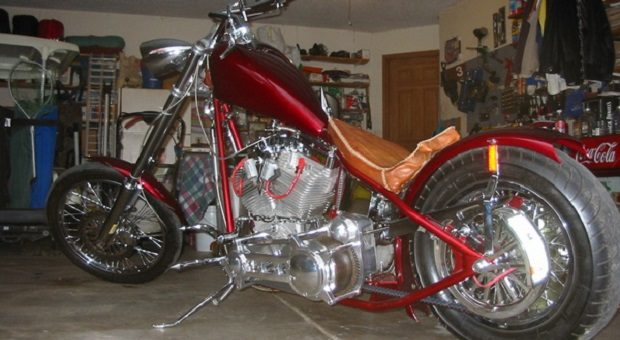 Today's Cool Car Find is this Special Custom Chopper