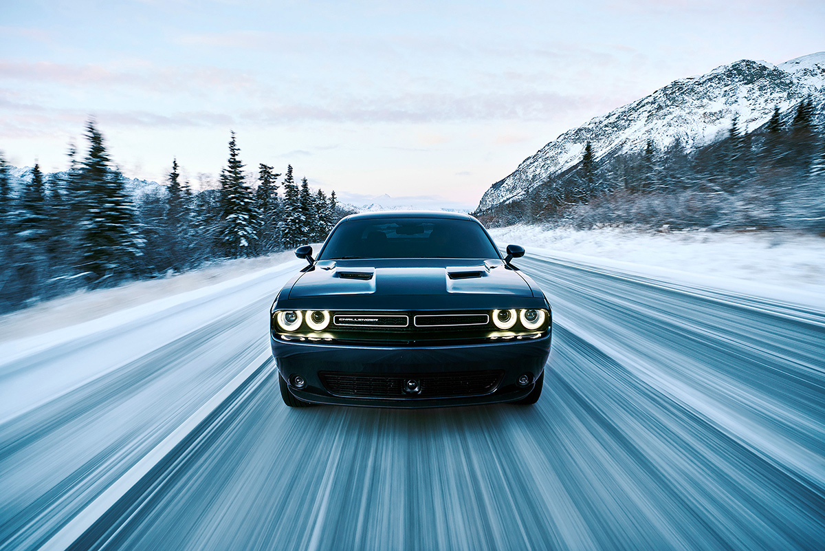 Dodge Challenger is First AWD American Muscle Car Coupe ...
