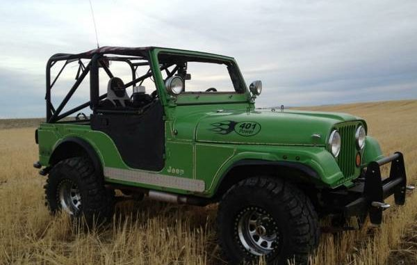 Today's Cool Car Find is this 1976 Jeep CJ 5