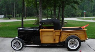 Today's Cool Car Find is this 1932 Ford Woody Pickup