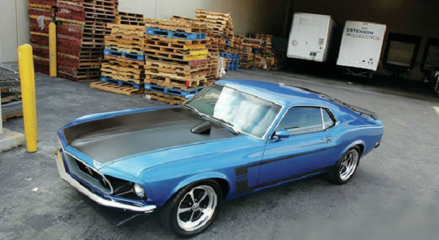 Today's Cool Car Find is this 1969 Ford Mustang