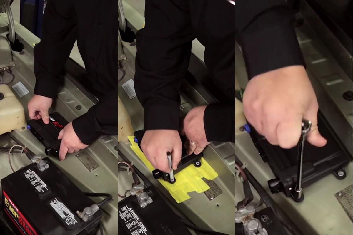 Installing a Holley ECU
