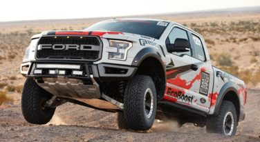 Street Legal 2017 Ford F-150 Raptor Takes Third at Baja 1000