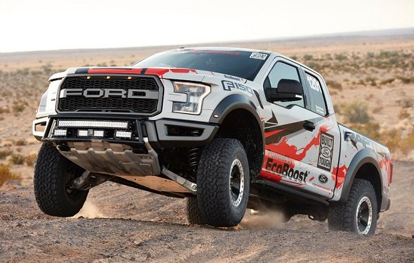 Street Legal 2017 Ford F-150 Raptor Takes Third at Baja 1000